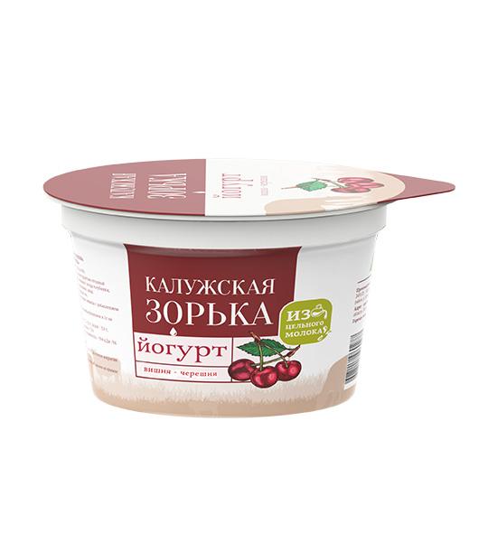 Йогурт вишня-черешня